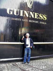 Allan At The Guinness Storehouse